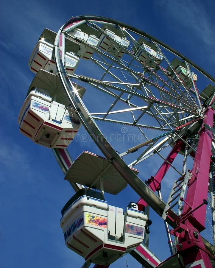 Small Ferris Wheel at a Fair royalty free stock photos