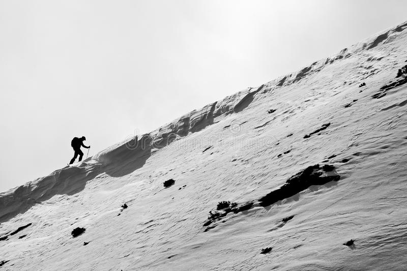 Download Small figure of skier stock image. Image of freerider - 23880921