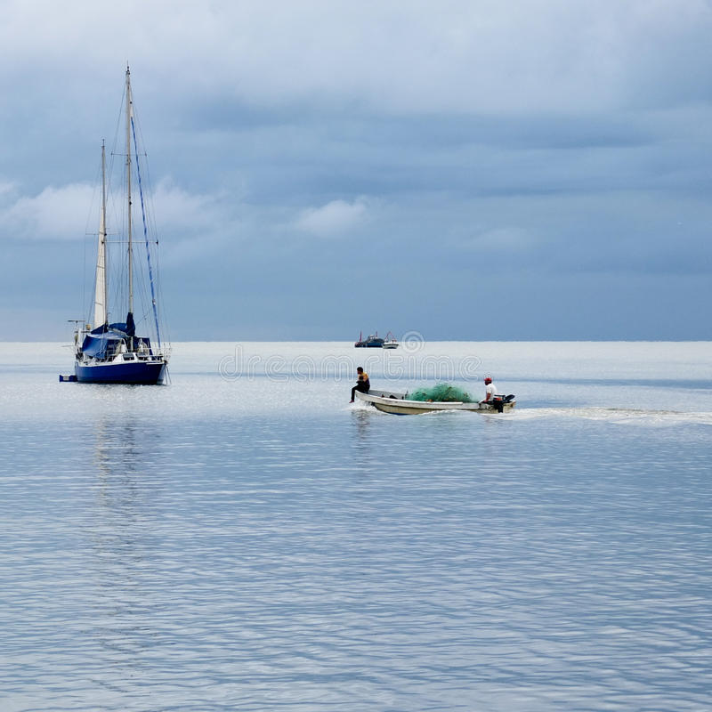 Free Small Fishing Boat. Stock Image - 36219211