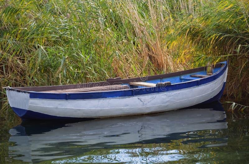 Small fishing boat stock photography