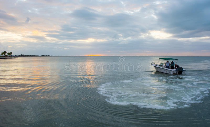Small Fishing Boat stock photo