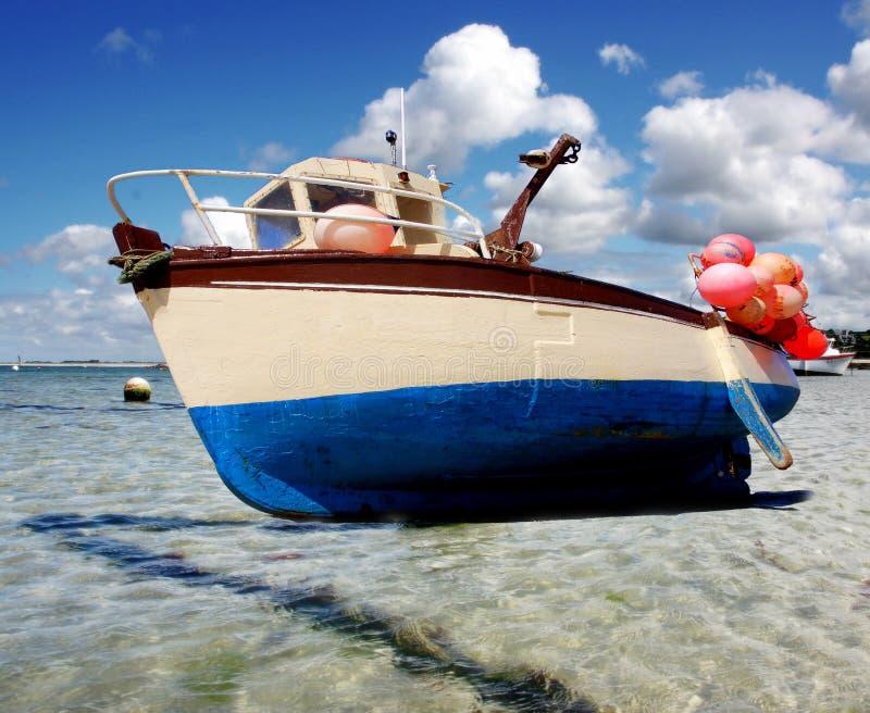 Small Fishing Ship Stock Image