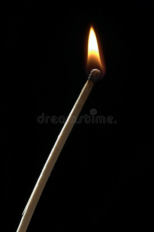 Download Small flame stock photo. Image of safety, lucifer, glow - 2315304