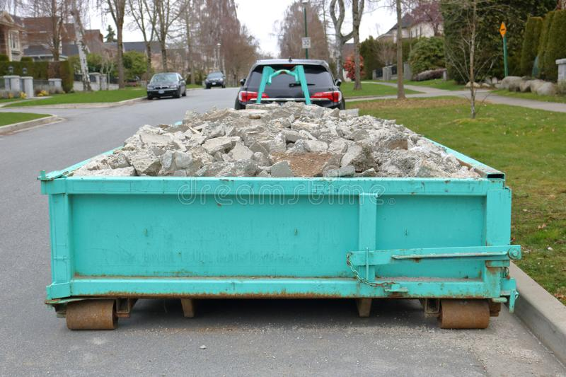 Small Flatbed Container stock images