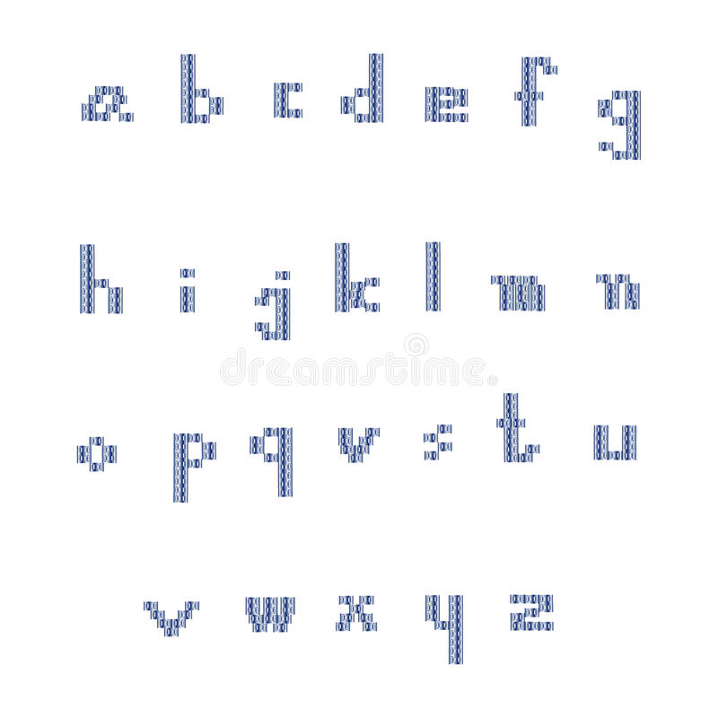 Small font royalty free stock images