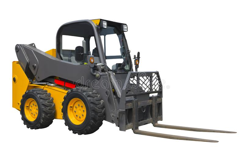 Small forklift stock images
