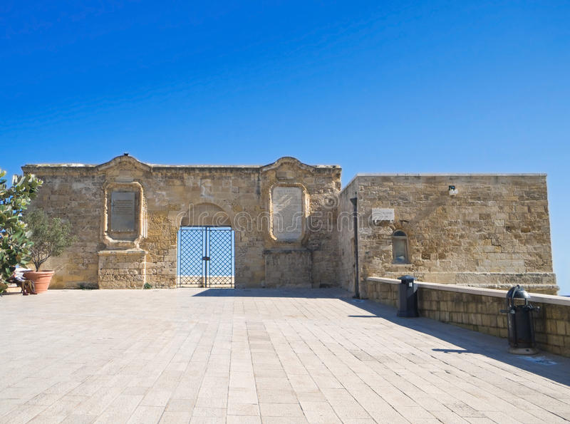Download The Small Fort In Oldtown Of Bari. Apulia. Stock Image - Image: 13133411