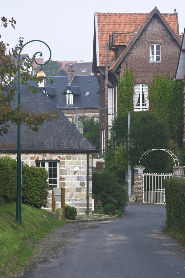 Small French village stock photos