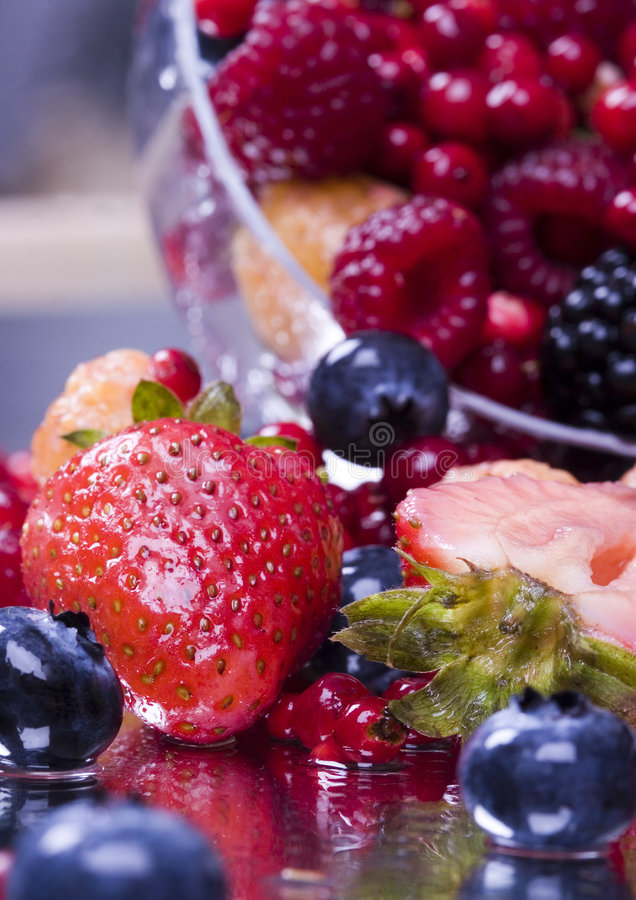 Small fruits royalty free stock photography