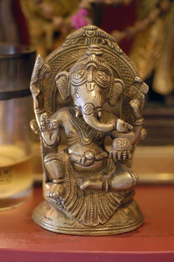 Download Small Ganesh stock photo. Image of trunk, niche, ganapati - 2311982