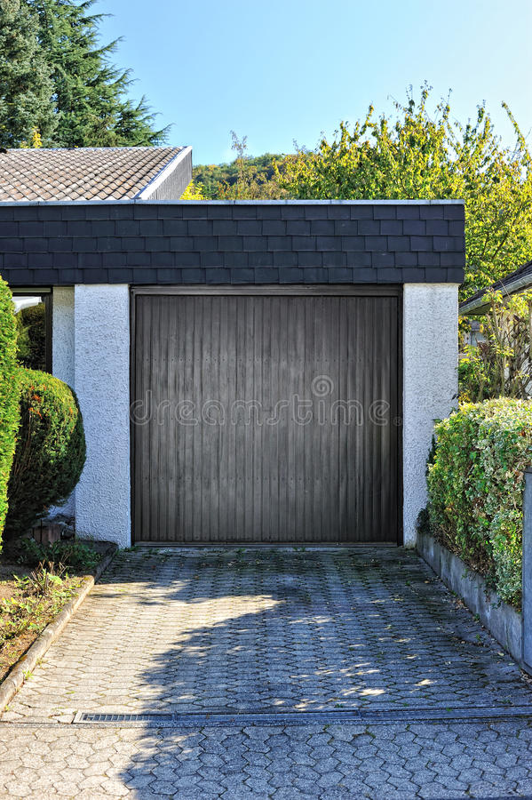 Download Small garage for one car stock photo. Image of garage - 23103852
