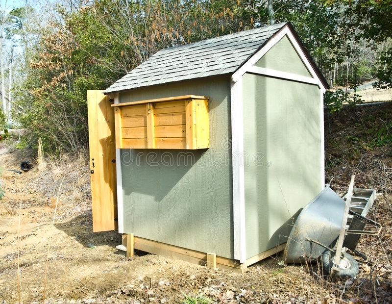 Download Small Garden Shed Stock Photos   Image: 8304873