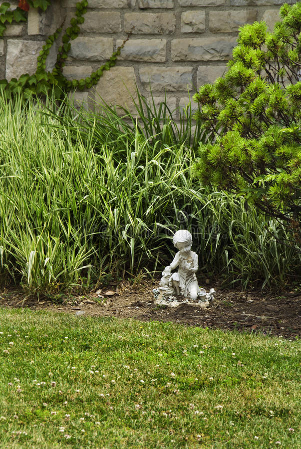 Download Small Garden Statue Stock Photo   Image: 17440220