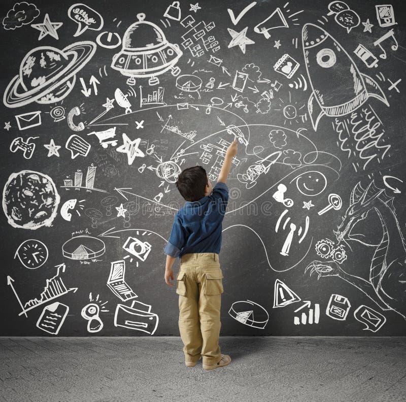 Download Small genius stock image. Image of explorer, game, businessman - 36925213