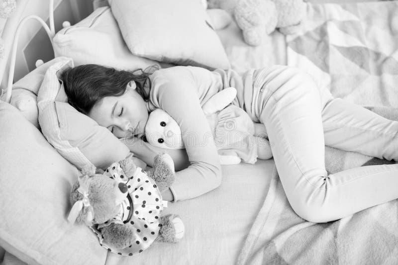Small girl sleeping at home. christmas family holiday. happy new year. Christmas shopping. waiting for santa. We love. Christmas. The morning before Xmas. Sleep royalty free stock photos