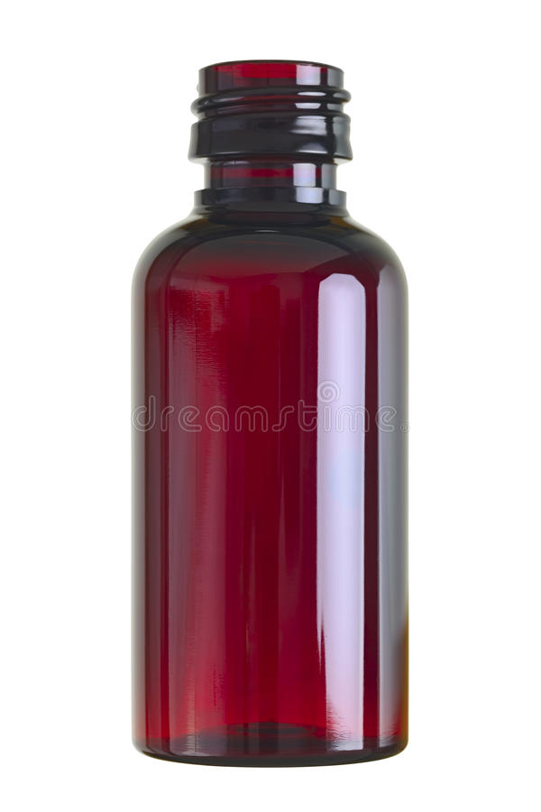 Small Glass Bottle Royalty Free Stock Photography