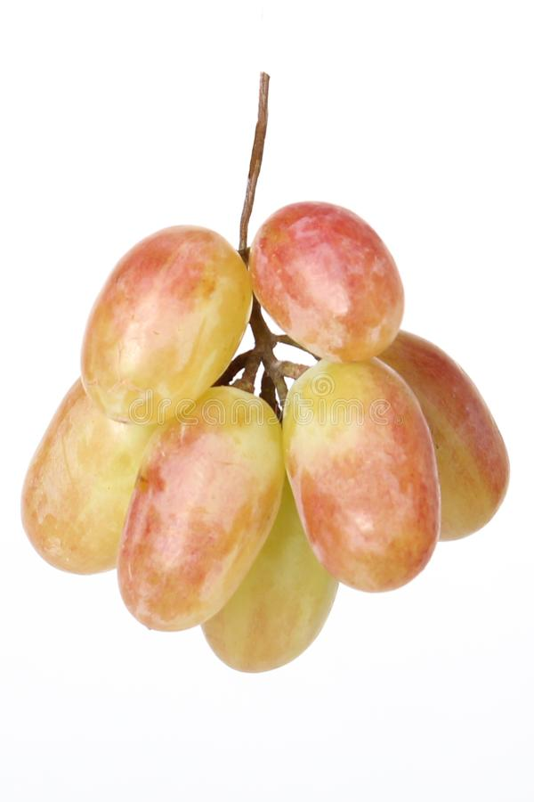 Grape grape on white background royalty free stock photography