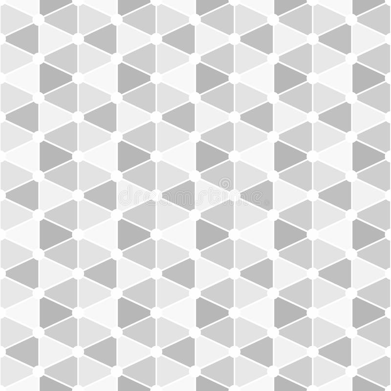 Download Small Grey Triangles Seamless Background Stock Image - Image: 94437571