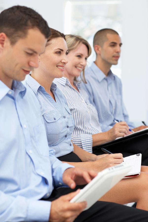 Download Small Group Of Business Colleagues Royalty Free Stock Photos - Image: 20597848