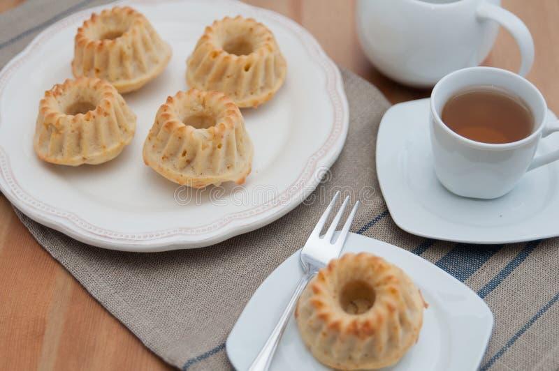 Small Gugelhupf Muffins royalty free stock photography