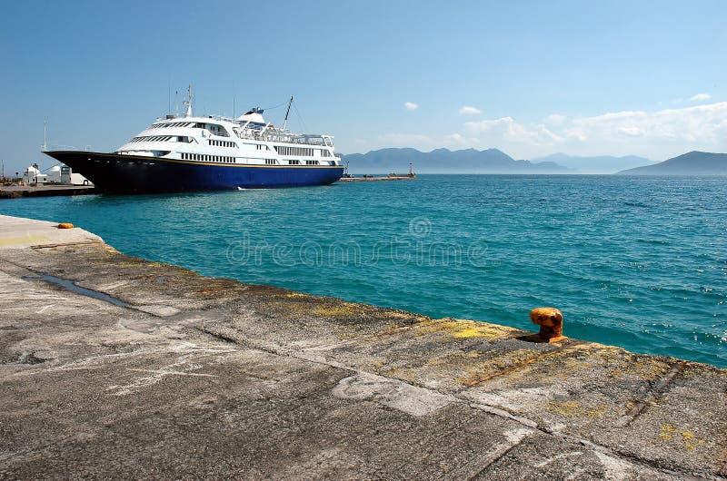 Download Small harbor stock image. Image of marina, aigina, haze - 464459