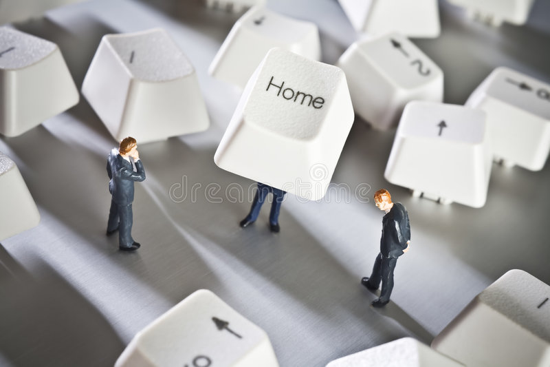 Small Home Based Business Stock Image. Image Of Small