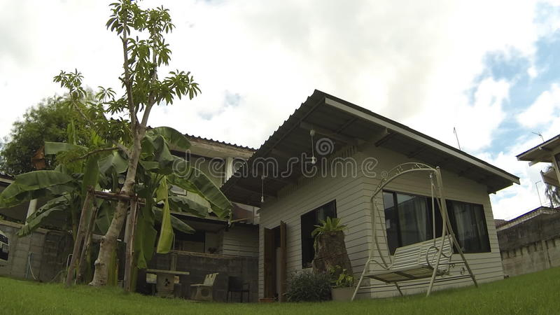 A Small House In The City Bangkok Thailand Stock Video Video