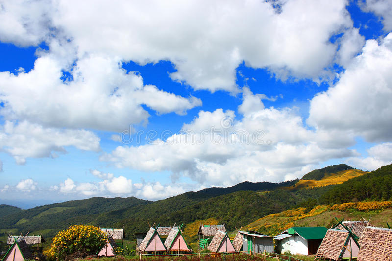 Small houses royalty free stock photography
