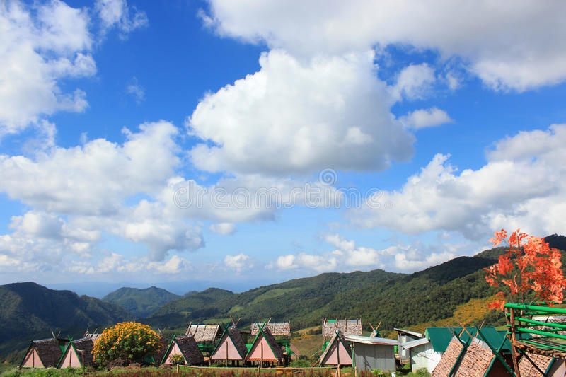 Small houses royalty free stock image