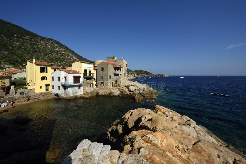 Giglio Porto, Tuscany, Italy royalty free stock images