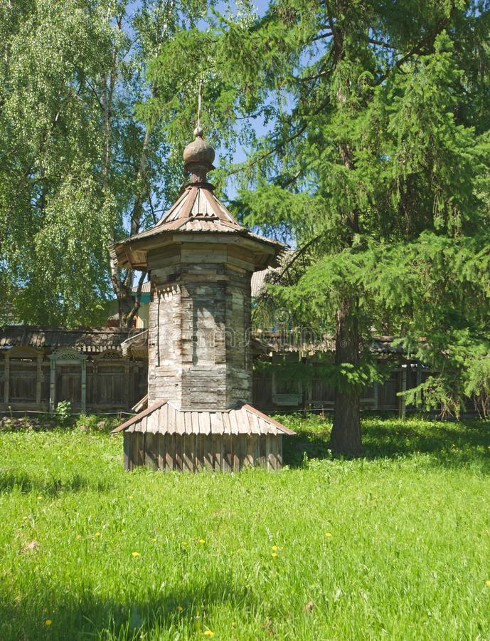 Download Small hut stock image. Image of lawn, dacha, exterior - 13892507