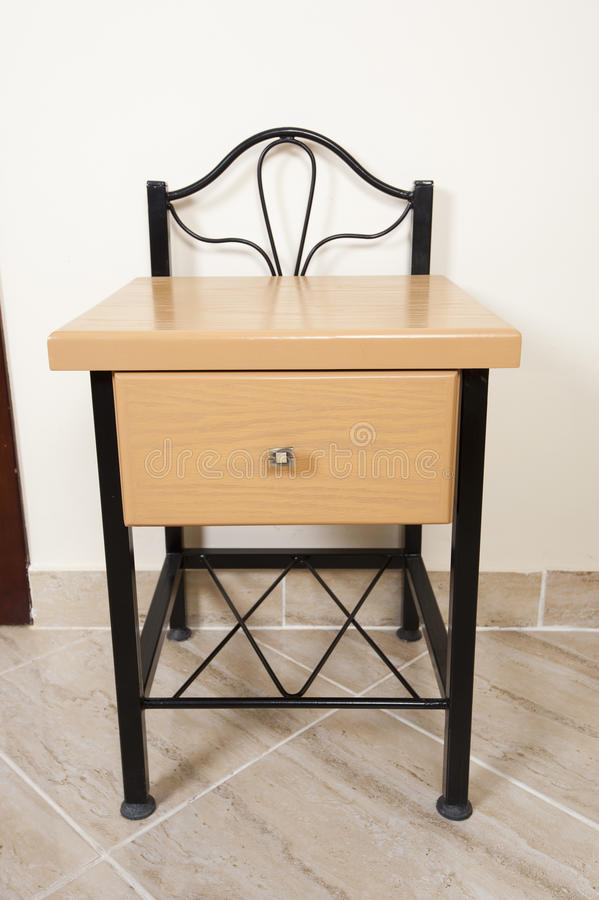 Download Small Interior Table With Drawer And Shelf Royalty Free Stock Images - Image: 20696649