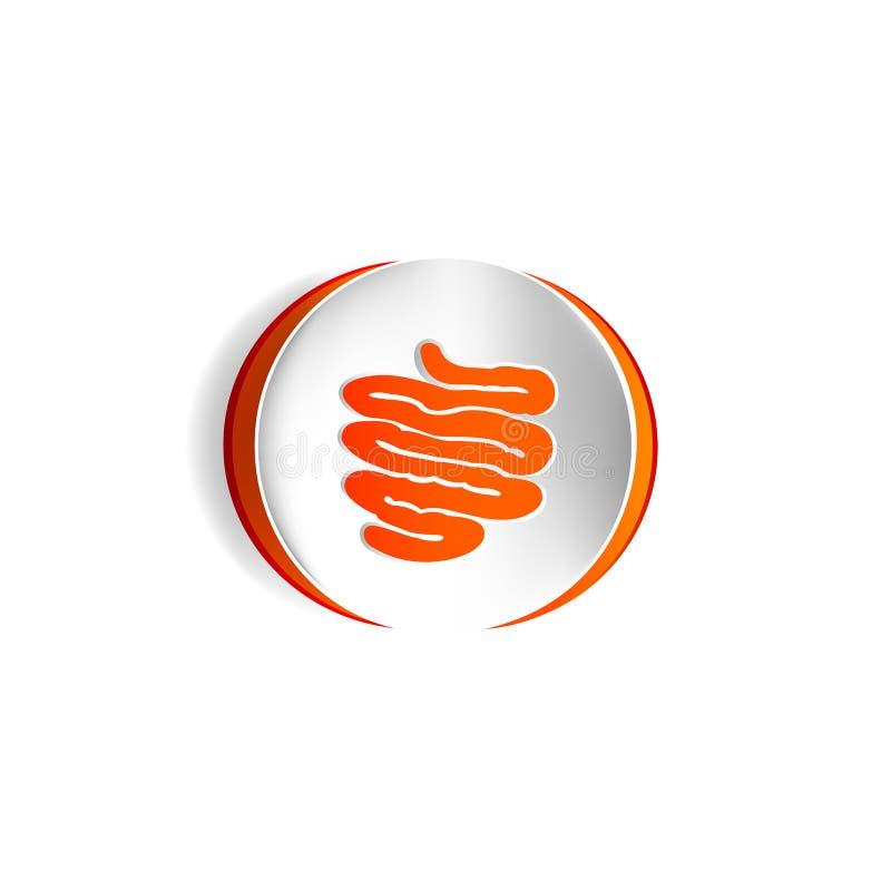 Free Small Intestine Vector Icon. Stock Photos - 114719233