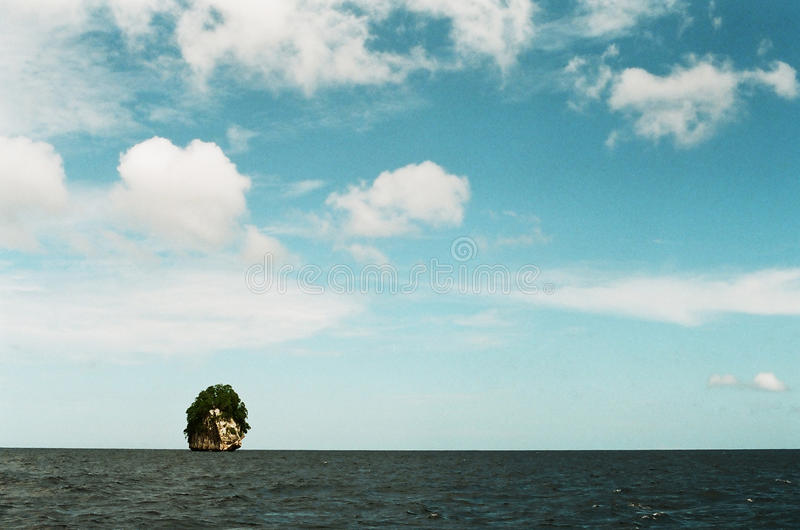 Small island royalty free stock images