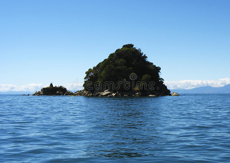 Download Small island stock photo. Image of auckland, taupo, abel - 14672054