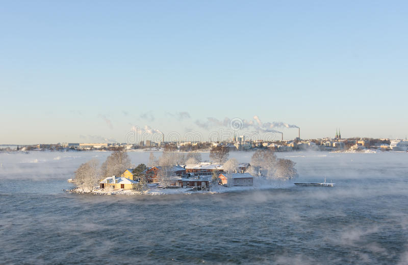 Download Small Island In Helsinki, Finland Stock Photo - Image: 83704812