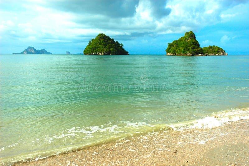 Small Island, Krabi, Thailand stock photography