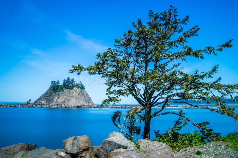 Small Islands Off The NW Coast Of The United States stock images