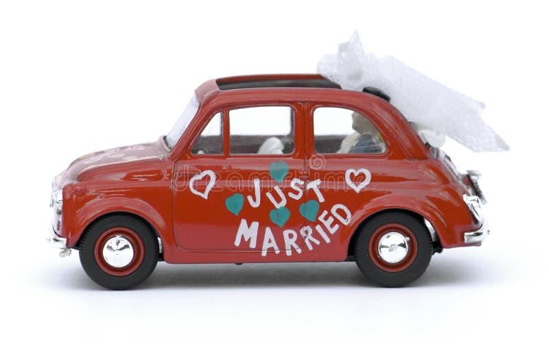 Small Italian Car royalty free stock photos