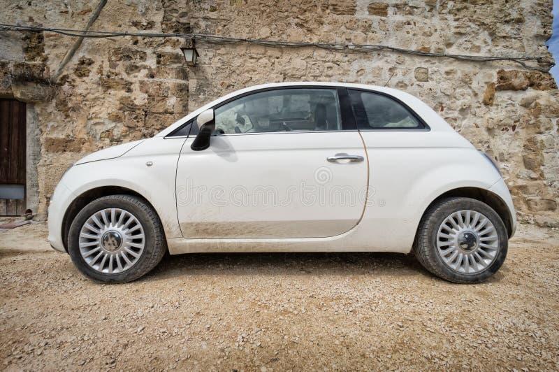 Small italian car royalty free stock photo
