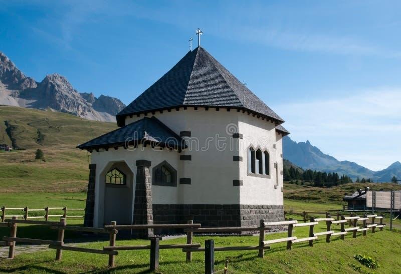 Download Small Italian Church - Dolomites, Italy Stock Image - Image of italy, dolomites: 10752207