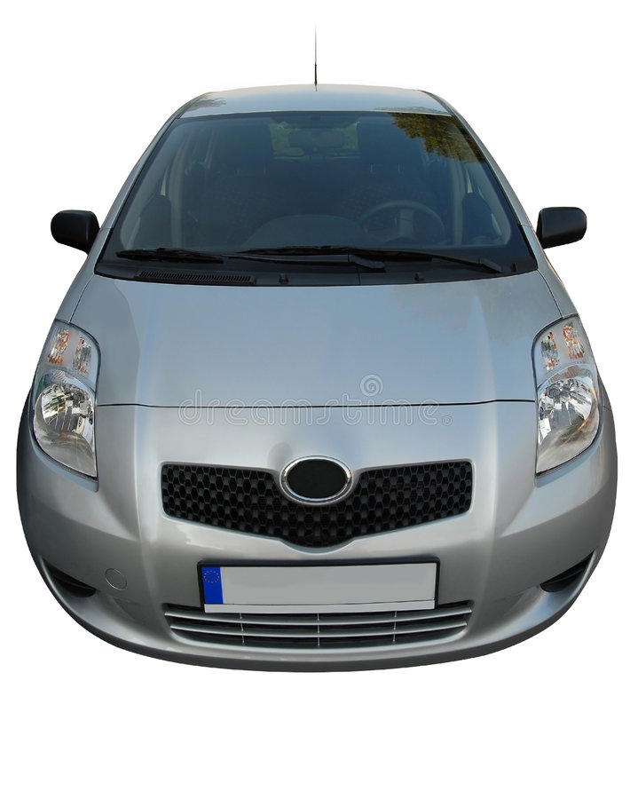 Small japanese car stock photo