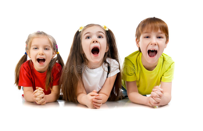 Small kids stock photography