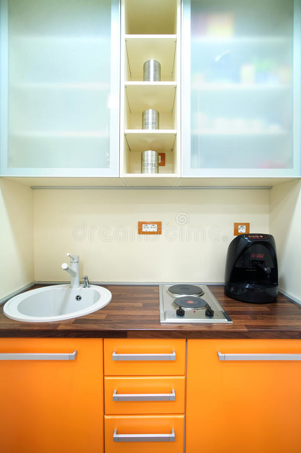 Download Small Kitchen Royalty Free Stock Photography - Image: 18019517