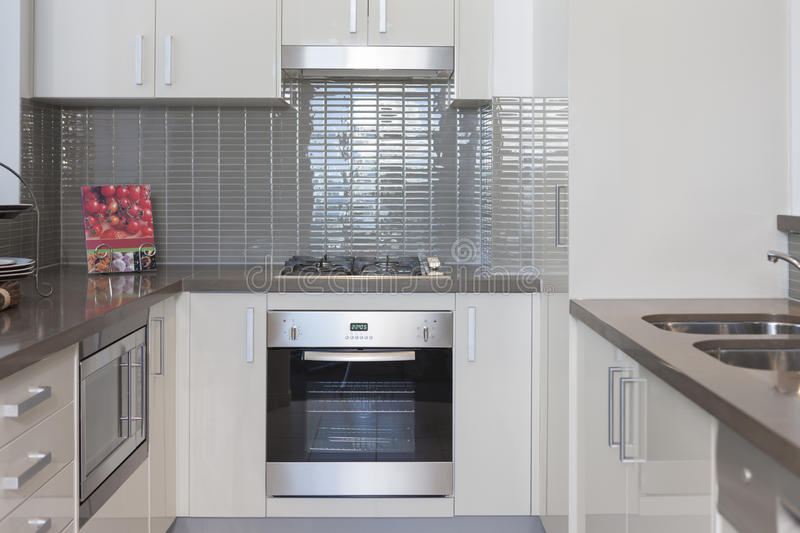 small kitchen built in. Download Small Kitchen With Built In Stove Stock Photo  Image of contemporary nobody