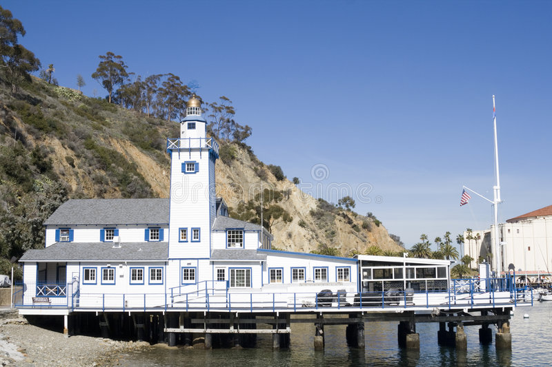 Download Small Lighthouse - Catalina Island Royalty Free Stock Photo - Image: 4454975