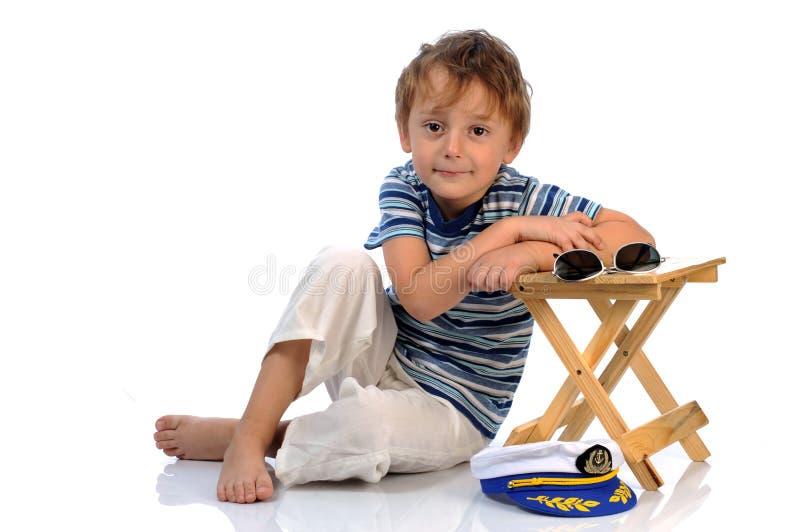 Download Small mariner stock photo. Image of childhood, joyful - 17707100