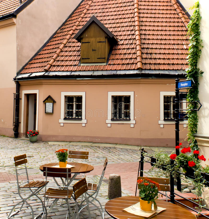 Free Small Medieval Inn In Old Riga, Latvia Stock Images - 22023374