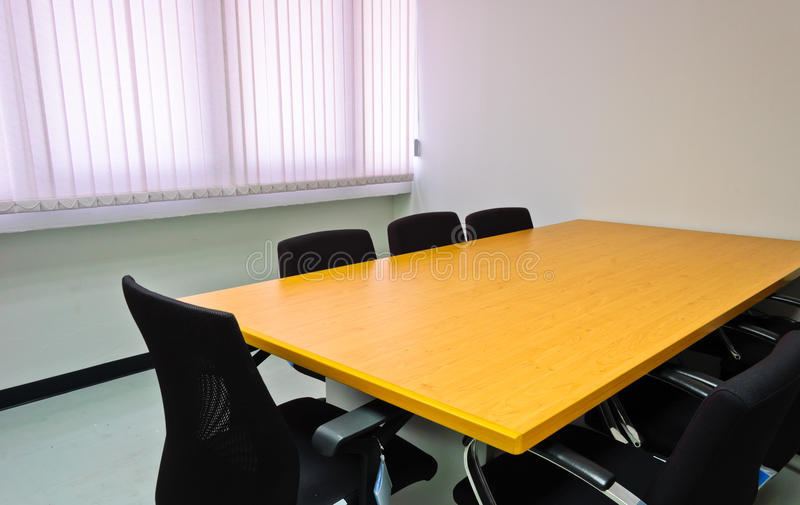 Small meeting room stock photography