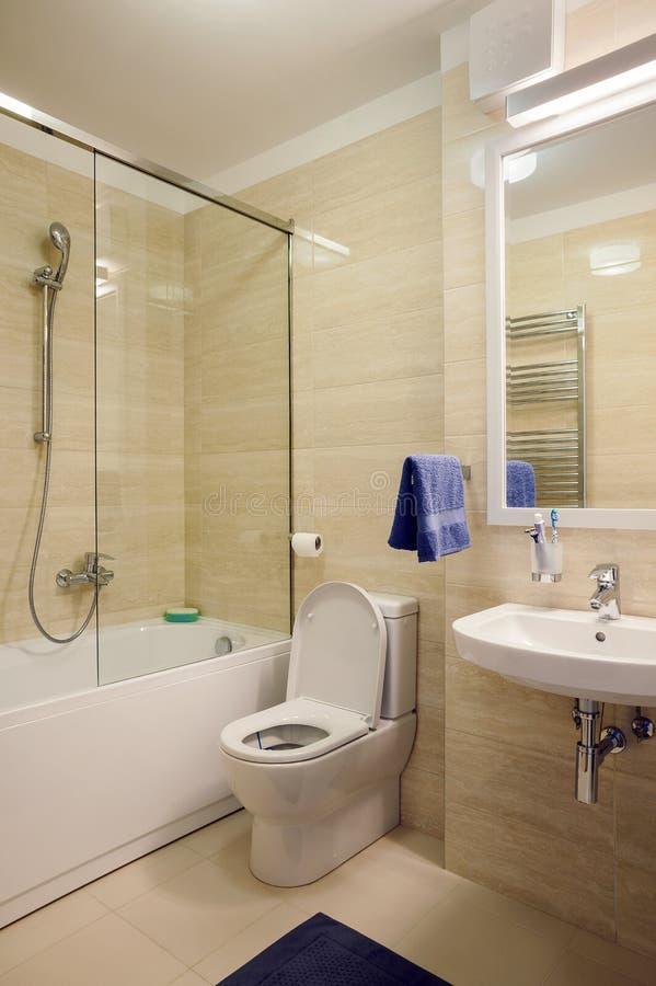 Small Modern Bathroom stock photos
